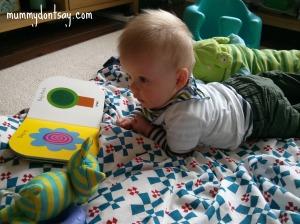 Baby bookworm!